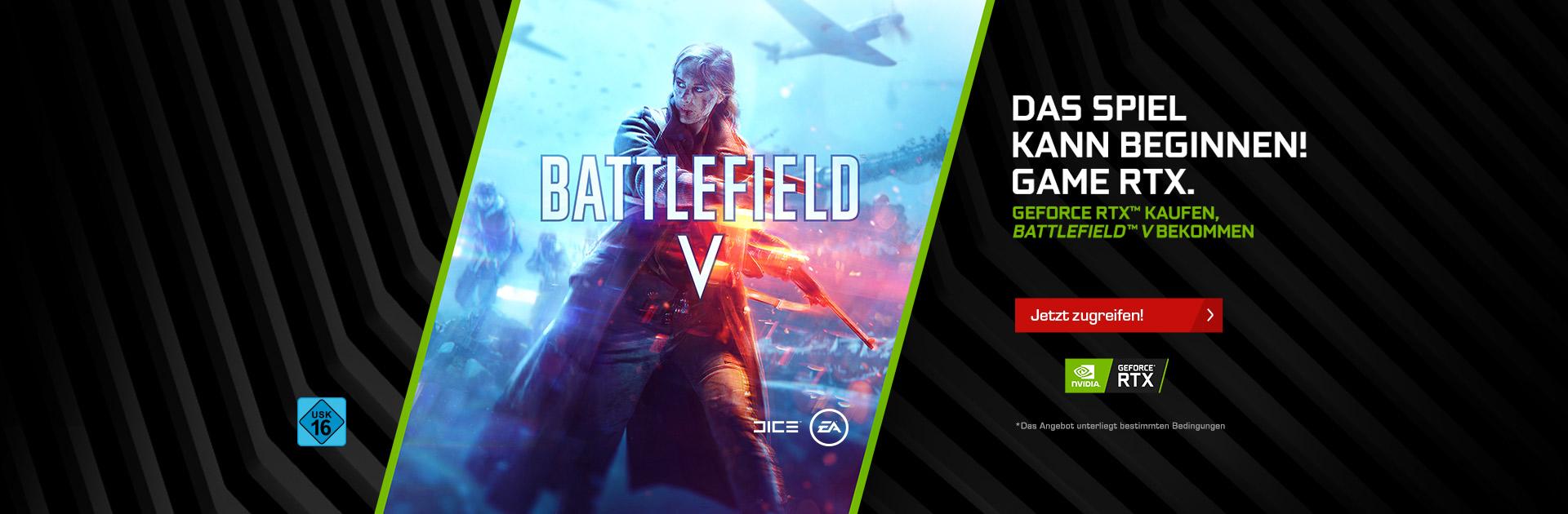 NVIDIA RTX Game Bundle Battlefield V