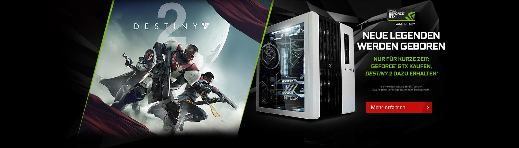 NVIDIA Game Bundle Destiny 2