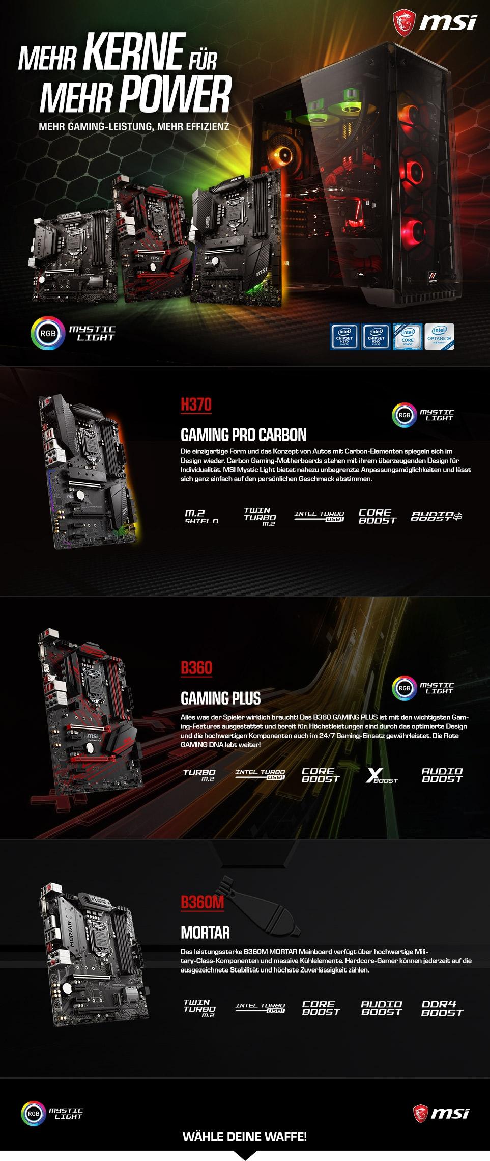 MSI Intel B/H300-Series Gaming
