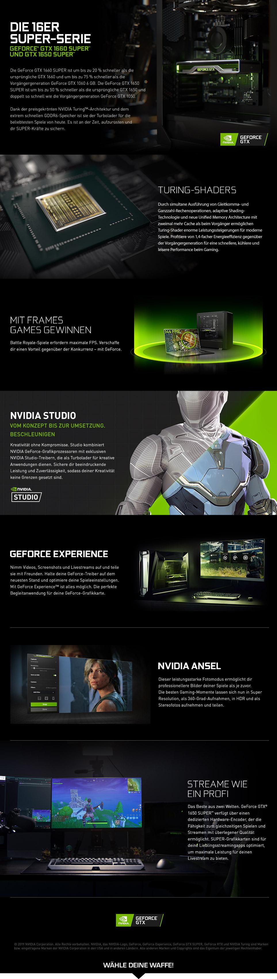 NVIDIA GeForce GTX 16 SUPER