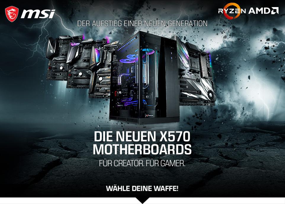 MSI AMD X500-Series Gaming