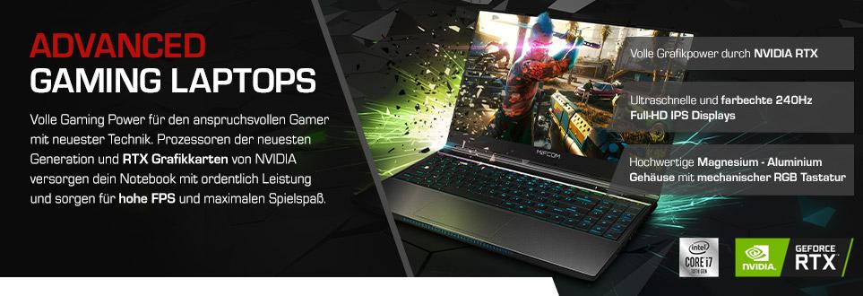 Advanced Gaming Laptops