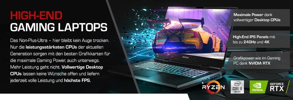 High-End Gaming Laptops