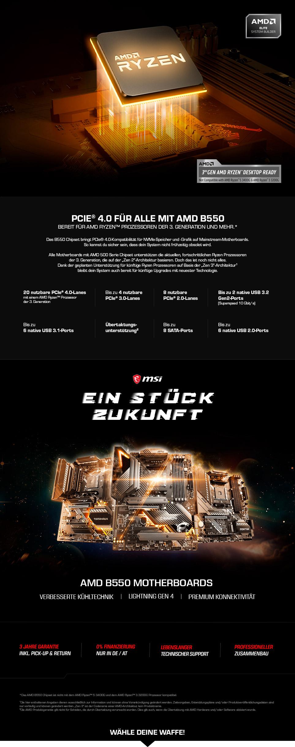 MSI AMD B500-Series Gaming
