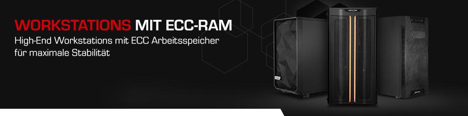 Workstations mit ECC-RAM