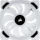 4x 120mm Corsair Light Loop LL120 RGB | Weiß