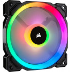 8x 120mm Corsair Light Loop LL120 RGB | Schwarz