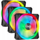 3x 120mm Corsair iCUE QL120 RGB
