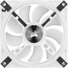 6x 120mm Corsair iCUE QL120 RGB   Weiß