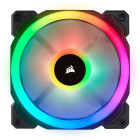 6x 120mm Corsair Light Loop LL120 RGB | Schwarz