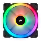 7x 120mm Corsair Light Loop LL120 RGB | Schwarz