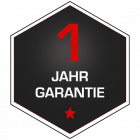1 Jahr Hersteller-Garantie | Bring-In