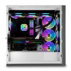 Corsair 5000X RGB | Glasfenster, weiß