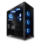 Corsair 4000X RGB | Glasfenster, schwarz
