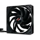 <b>4x</b> 120mm MIFCOM Premium Fan   Schwarz, PWM
