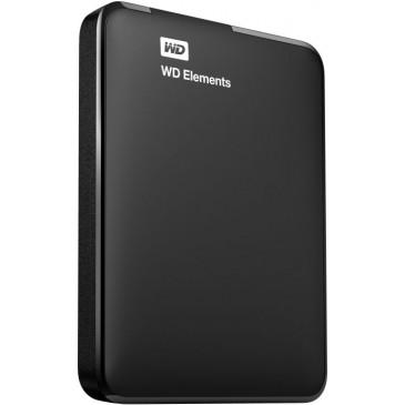 Western Digital Elements Portable HDD 2TB, USB 3.0