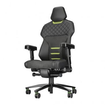 Backforce One Plus   schwarz/grün