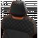 Backforce One | schwarz/orange