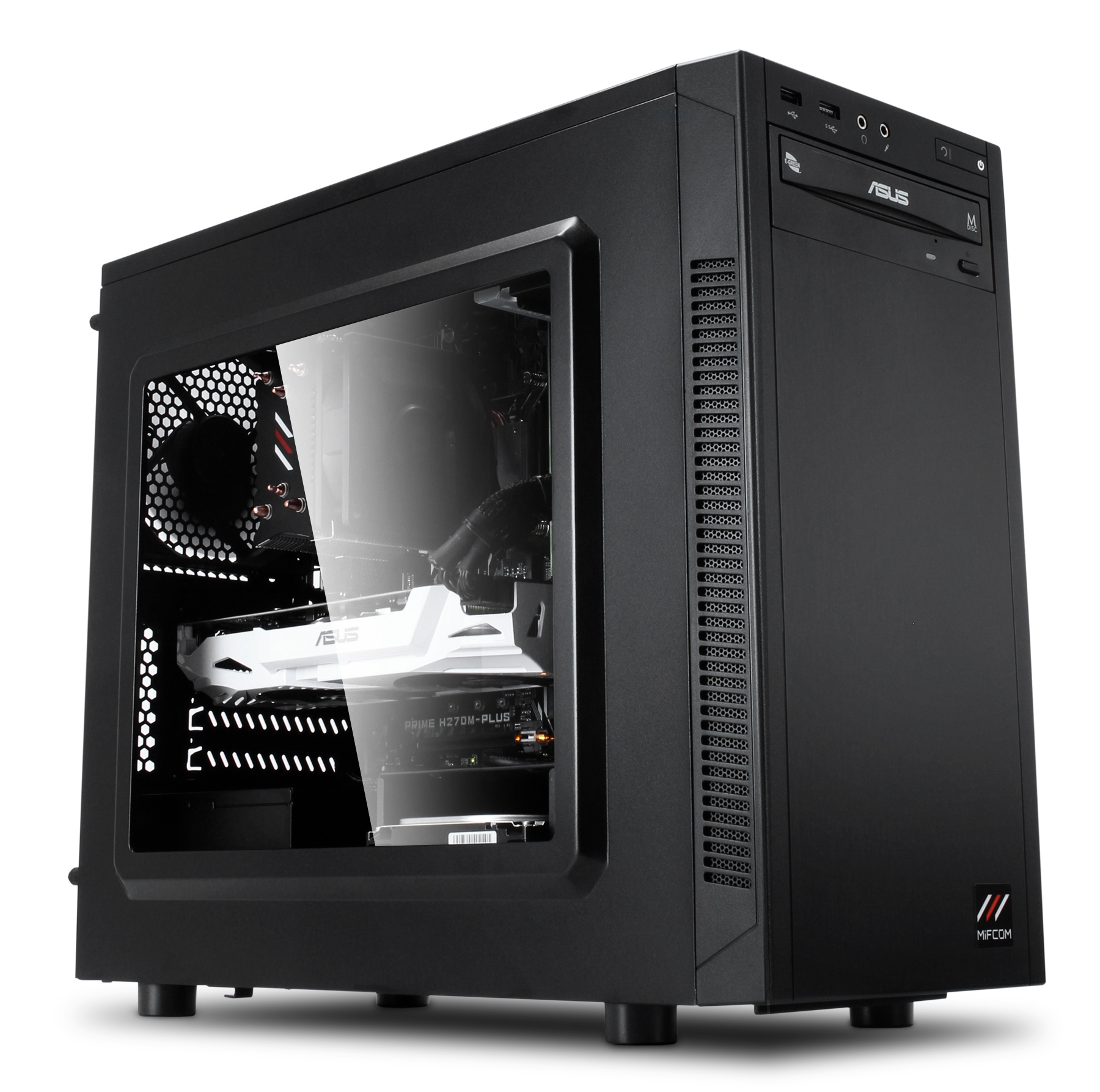 gaming mini pc core i7 7700 gtx 1070 gaming mini tower pc. Black Bedroom Furniture Sets. Home Design Ideas