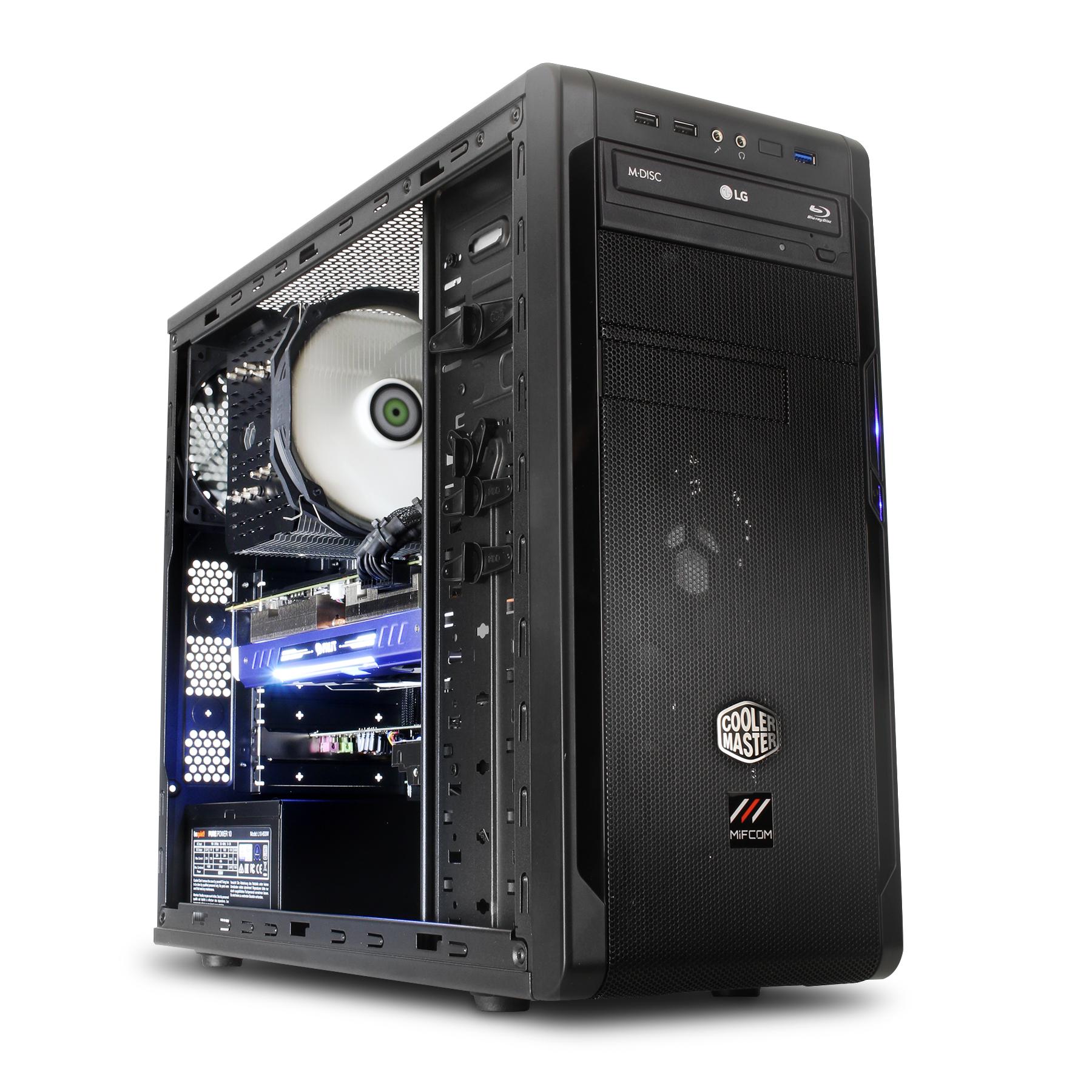 gaming pc ryzen 5 1600 gtx 1060 3gb ssd gaming pc amd. Black Bedroom Furniture Sets. Home Design Ideas