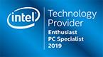 Intel Enthusiast Partner-Logo 2019