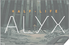 Half-Life: Alyx Gaming PCs Grafik 60%