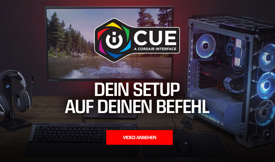 Powered by iCue Landingpage Teil 1