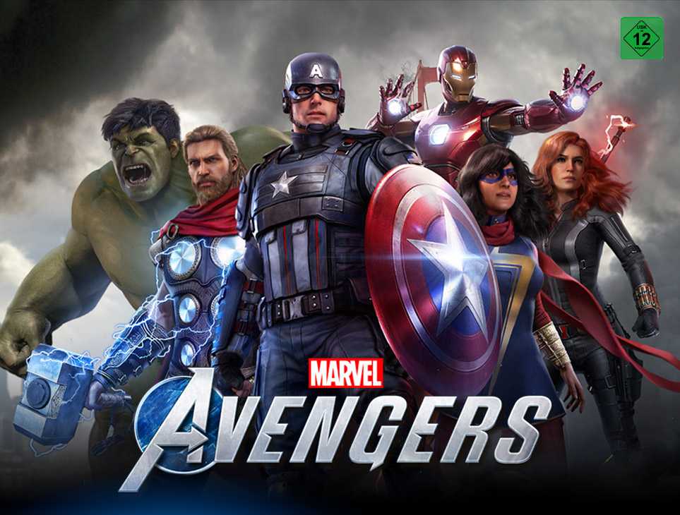 Intel Marvel's Avengers Game Bundle Landingpage Teil 1