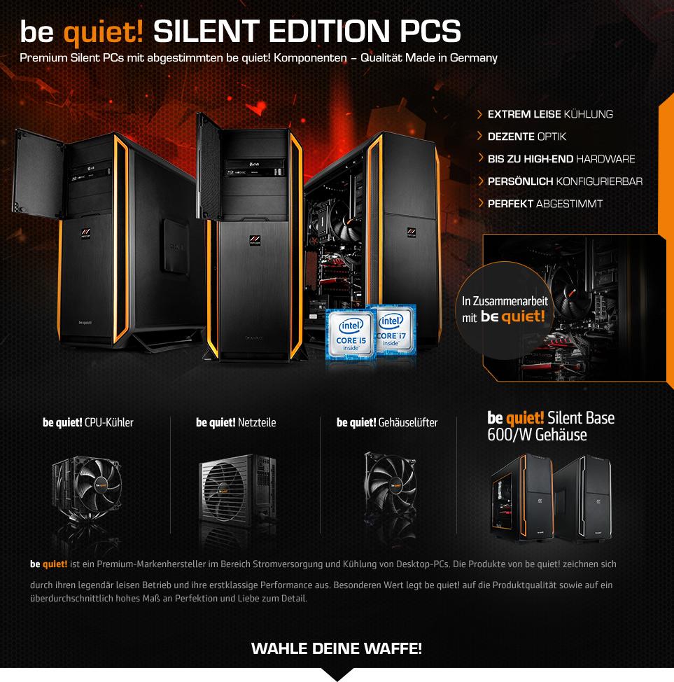 Silent PC be quiet!