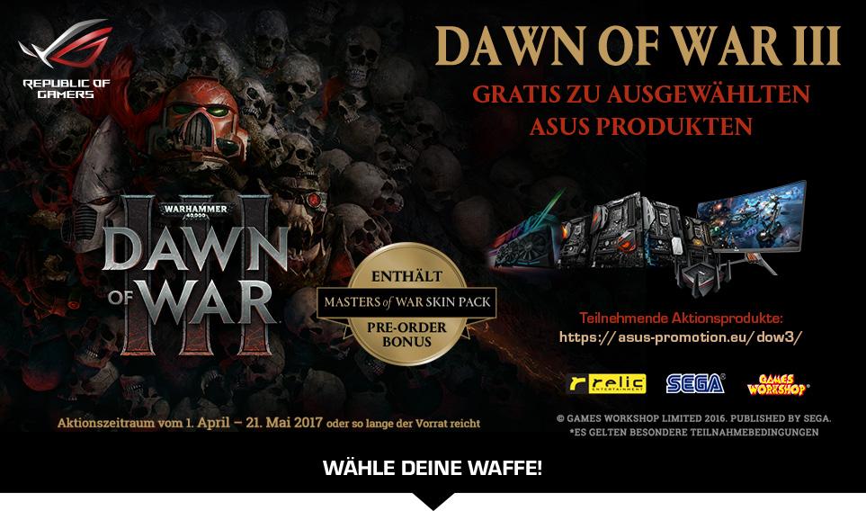 "Asus Game Bundle ""Dawn of War 3"""