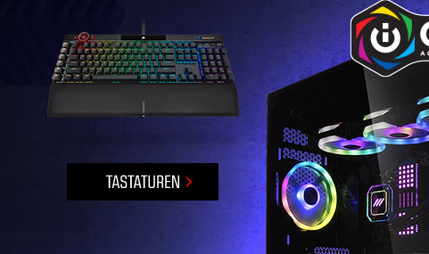 Verlinkung Corsair Tastaturen