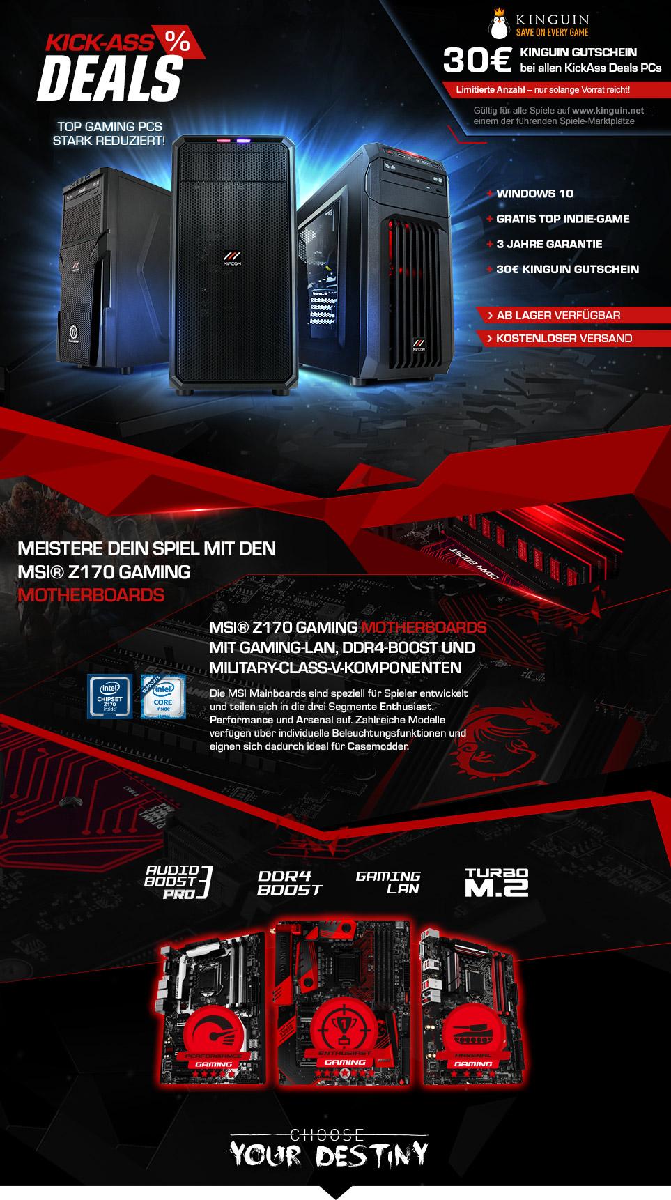 Kickass Deals PC Angebote