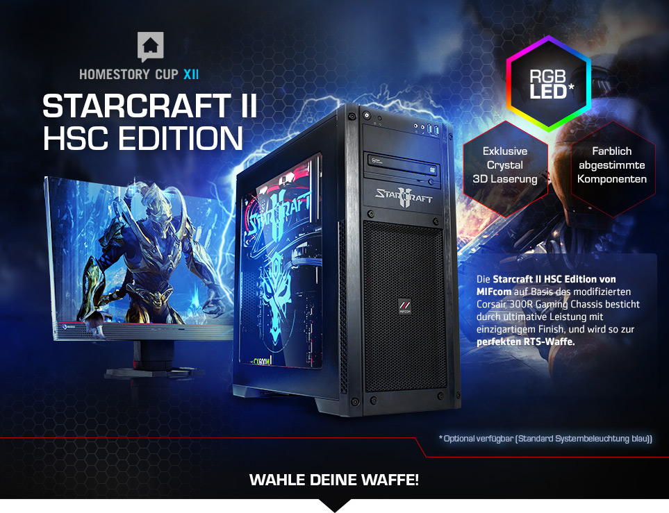 Starcraft 2 HSC Edition Gaming PCs