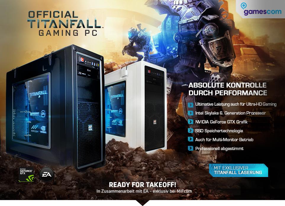 Titanfall Gaming PCs