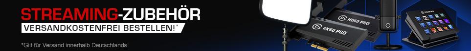 Desktop Banner Vorteilskommunikation Streaming-Zubehör