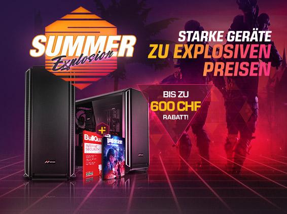 Jetzt Summer Gaming-PCs mit Premium Hardware kaufen
