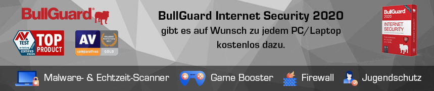 BullGuard Internet Security 2020 Banner