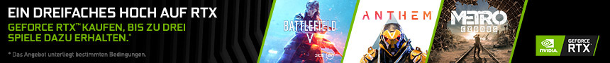 GeFore RTX Battlefield V + Anthem Bundle