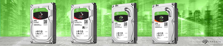 Seagate HDD Produktpalette